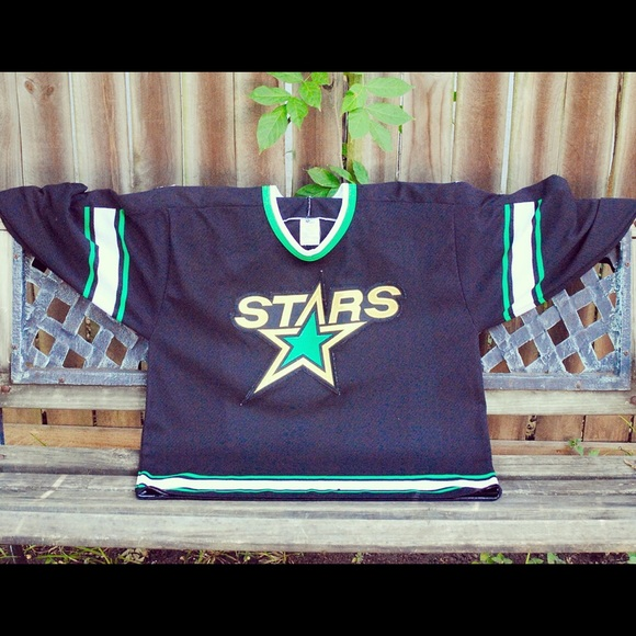 online retailer 94365 9f141 Dallas Stars Vintage Hockey Jersey Size L